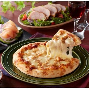<博多華味鳥>九州産華味鳥てりやきチキンピザ3枚セット