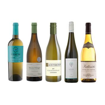 【送料無料】<A-styleソムリエ厳選>シャルキュトリーに合う白ワイン5本セット