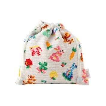 <フェイラー>TIPP TAPP FOREST 巾着TIPF-190016/シルバーグレー