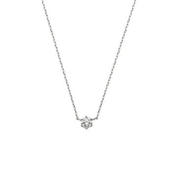 <VAヴァンドーム青山>VI(ヴイアイ) PTダイヤモンド ネックレス