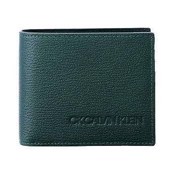 <CK カルバン・クライン>ロック/二つ折財布 803634