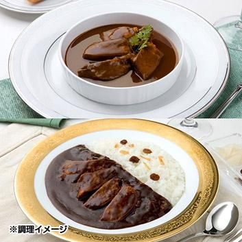 <味の牛たん喜助>プレミアム牛たんシチュー・カレー2個セット