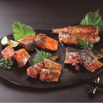 <釧路おが和>北海道煮魚5種セット