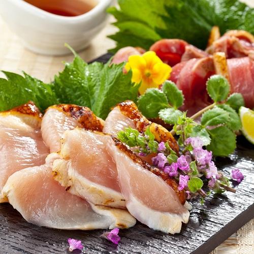 <南薩食鳥>味なとり(鶏タタキ)6種セット