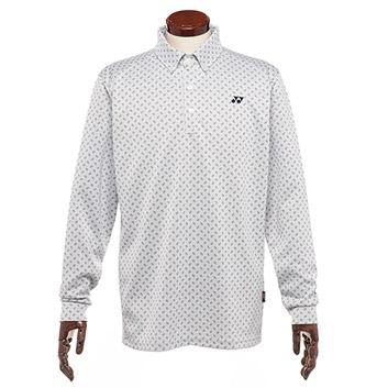 <ヨネックス>メンズ 長袖ボタンダウンシャツ(GWF1591)