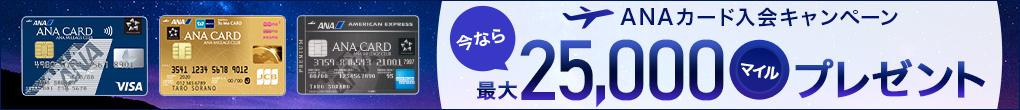 ANAカード入会キャンペーン2020