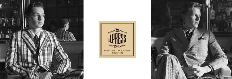 <J.プレス>ANA meets MEN'S CLUB MAGAZINE