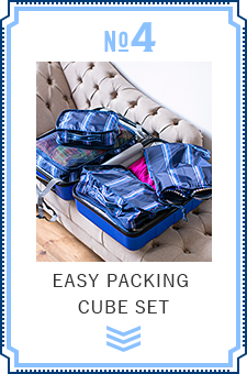 NO.4 EASY PACKING CUBE SET