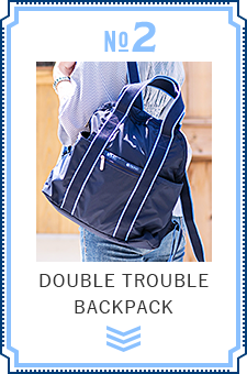 NO.2 DOUBLE TROUBLE BACKPACK