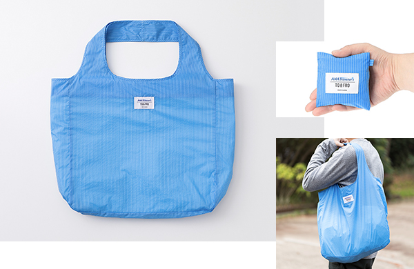 <ANAオリジナル>TO&FRO for ANA トラベラーズ PACKABLE TOTE BAG