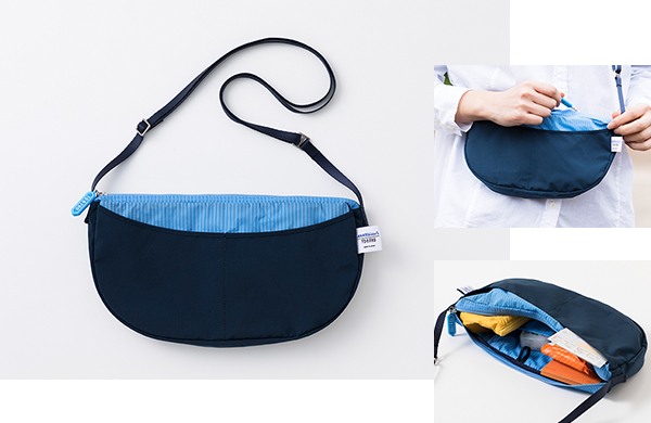 <ANAオリジナル>TO&FRO for ANA トラベラーズ PACKABLE POUCH