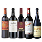 【送料無料】A-styleソムリエが選んだ、和食と合わせたい赤ワイン5本セット