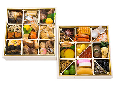 <ANAオリジナル>生おせち 日本料理「 一乃松」 謹製おせち二段重