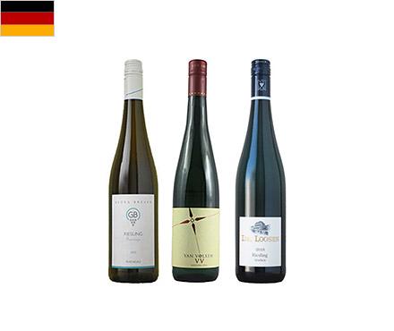 【送料無料】A-styleソムリエが選んだ、様々な料理に合わせて飲みたいドイツのリースリング3本セット
