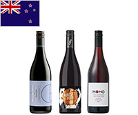 【送料無料】A-styleソムリエが選んだ、ニュージーランドのピノ・ノワール3本セット
