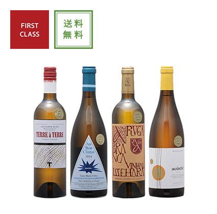 ファーストクラス白ワイン4本セット