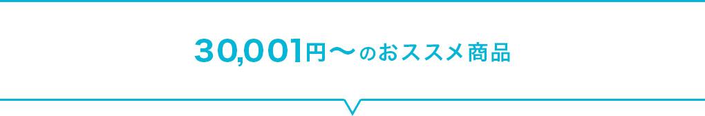 30,001円~のおススメ商品