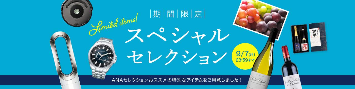ANAセレクション特典 期間限定「スペシャルセレクション」