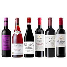 【ANAセレクション】世界を旅する赤ワイン6本セット