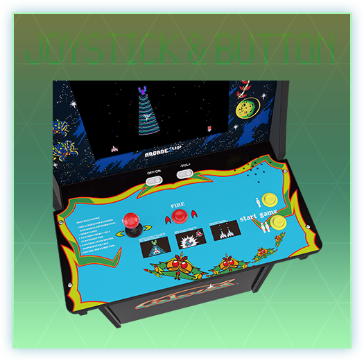 JOYSTICK & BUTTON